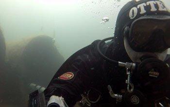 Phil Grigg SideMount Selfie